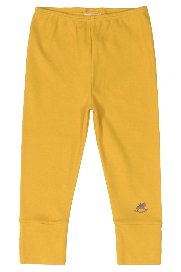 Calça em Suedine Amarelo Mostarda - Up Baby