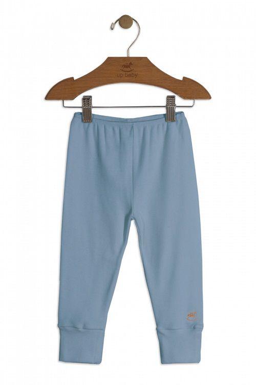 Calça em Suedine Azul - Up Baby