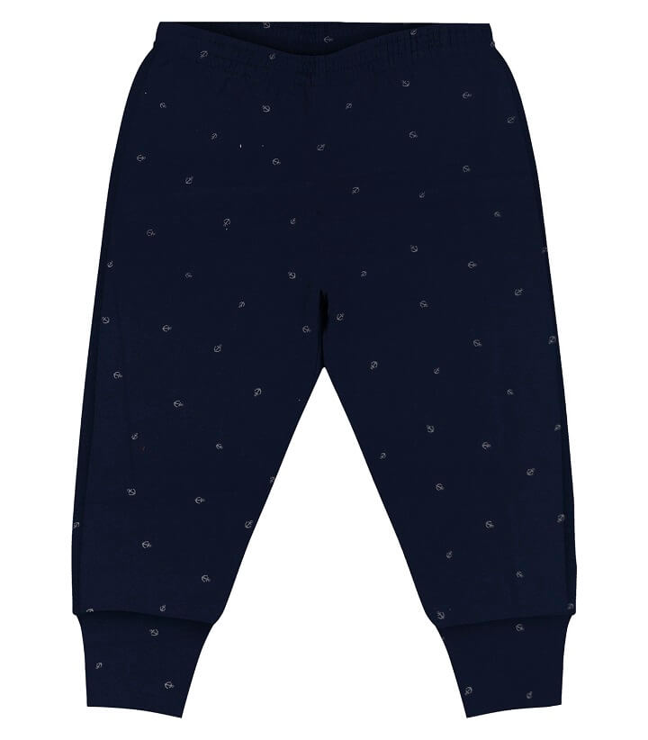 Calça em Suedine Navy Azul Marinho - Rovitex Kids