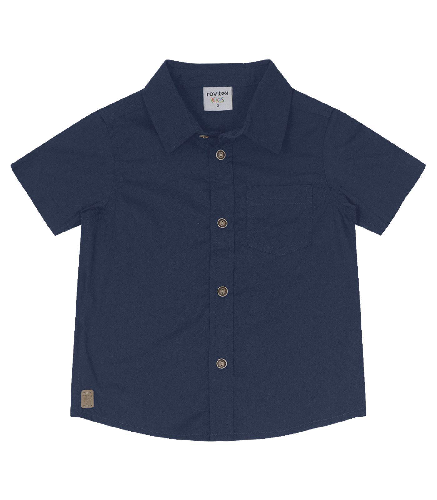 Camisa de Tricoline - Rovitex Kids