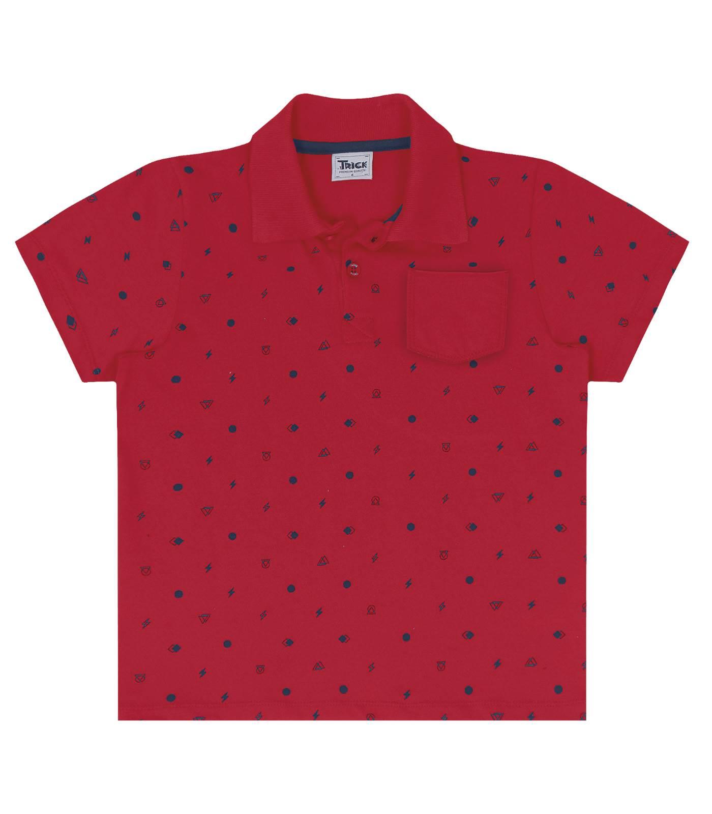 Camisa Polo Cotton - Trick Nick