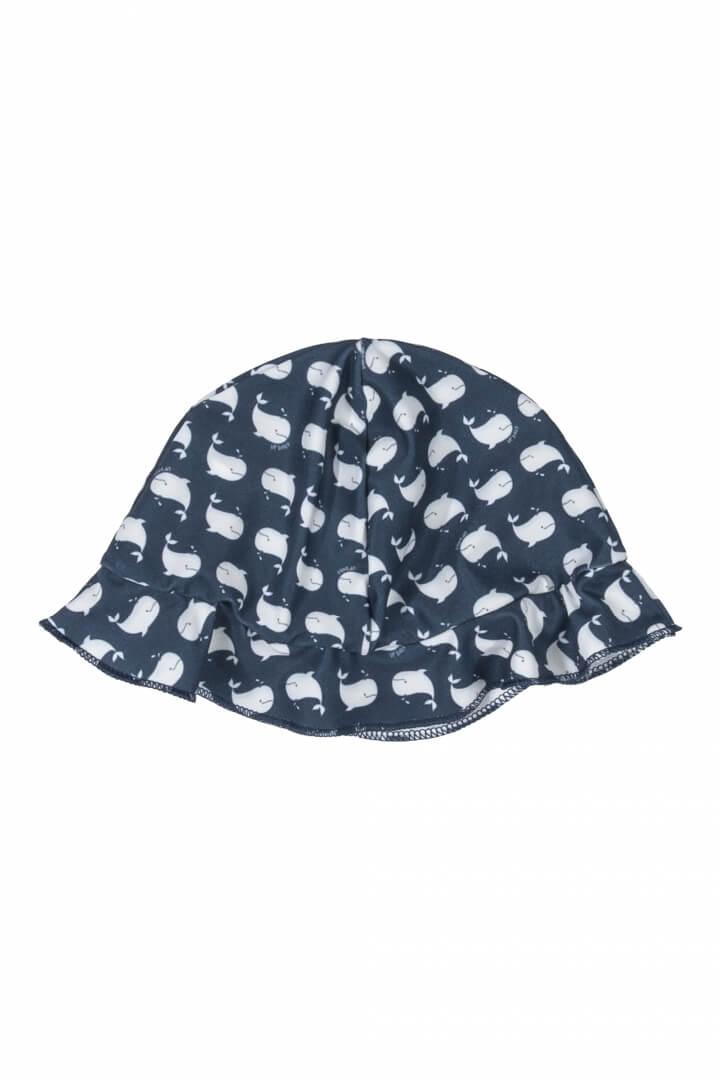 Chapéu em Malha Poliéster com Proteção UV Baleia - Up Baby