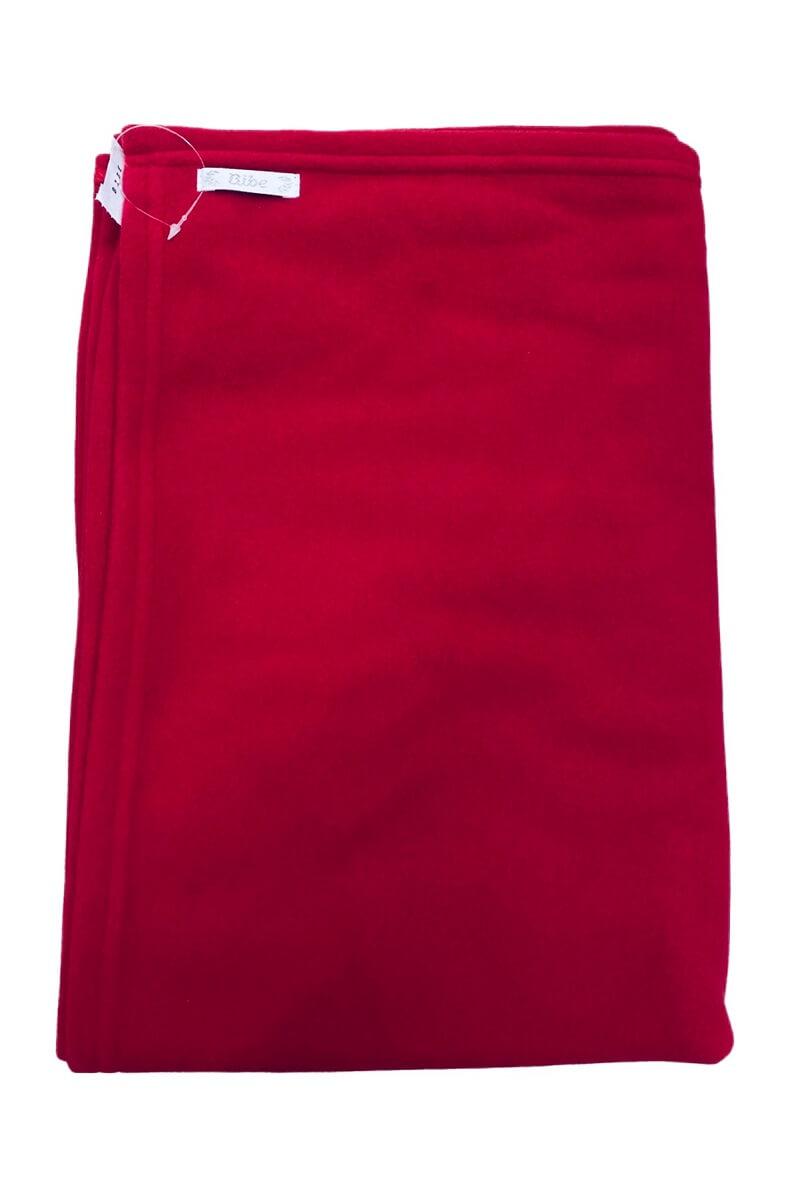 Cobertor em Soft Vermelho - Bibe