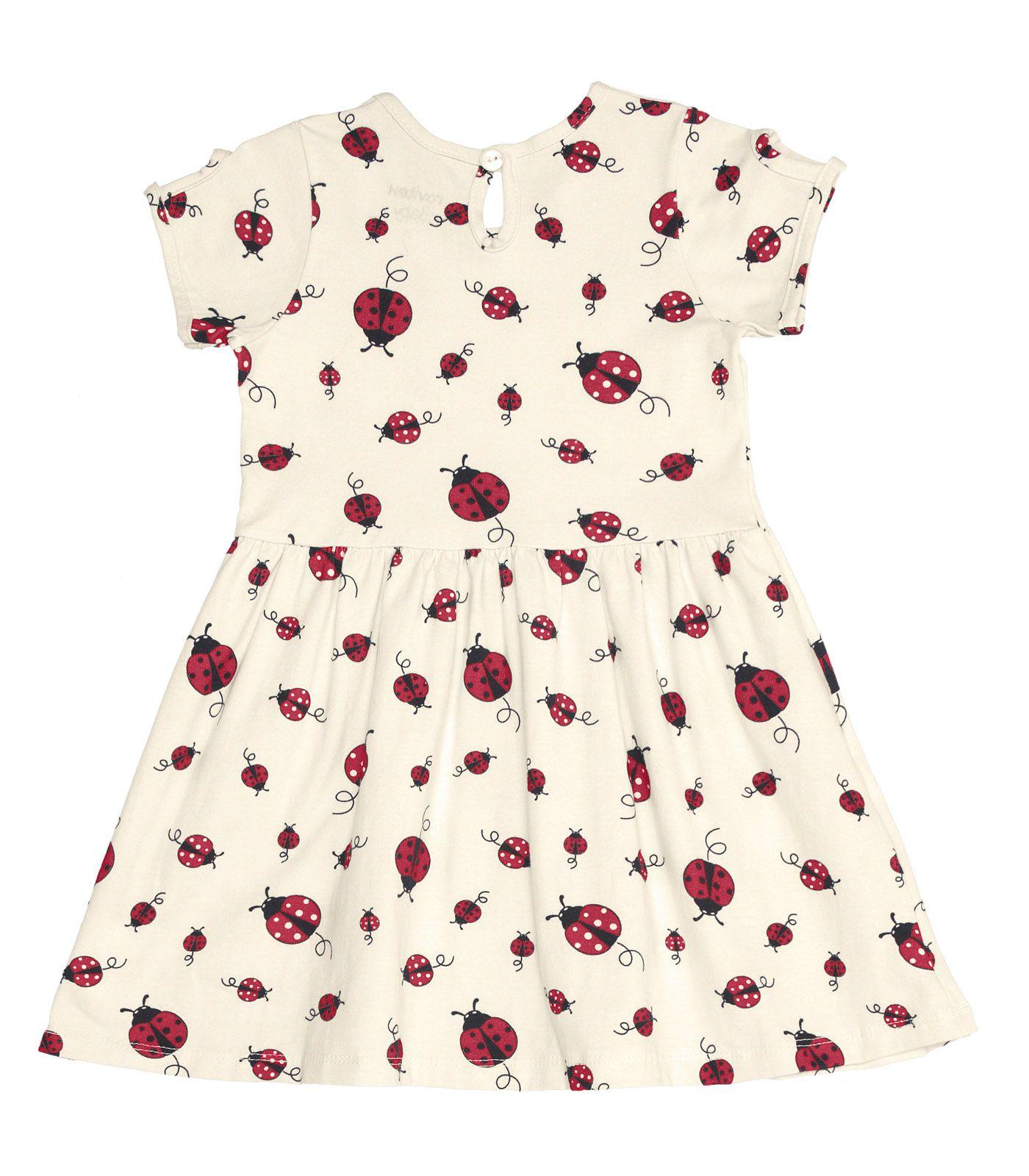 Vestido Cotton Leve Joaninha - Rovitex Kids