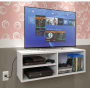 Rack Para Tv, Dvd, Blue Ray, Cd, Video Game Nicho Branco