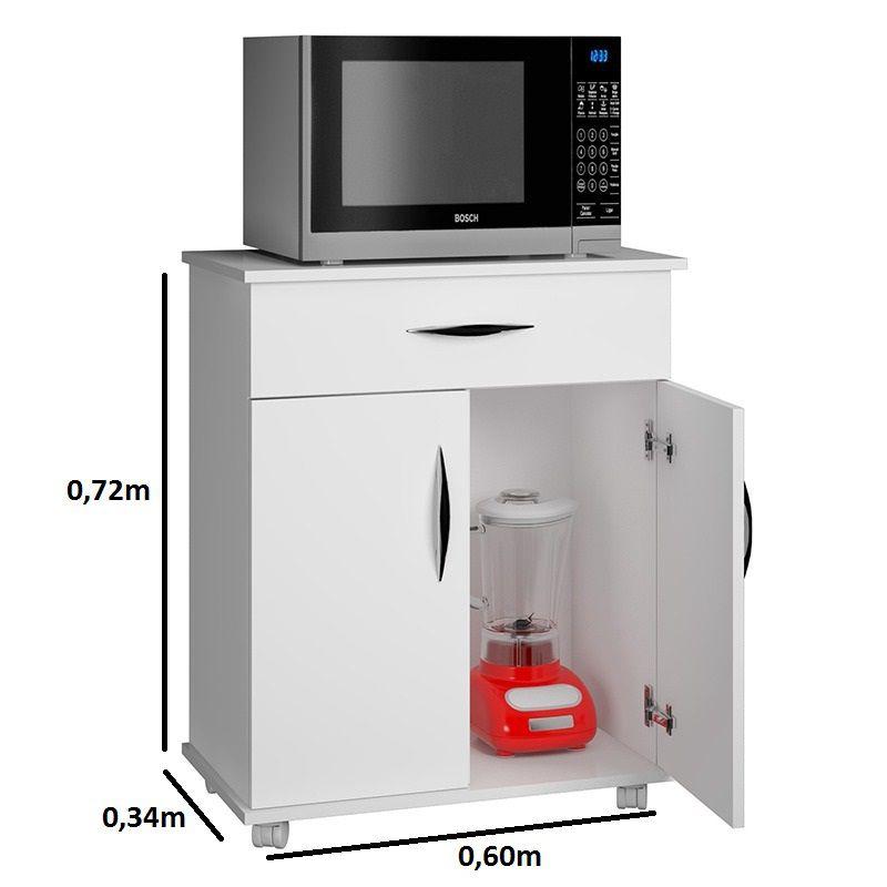 Armário c/ Base p/ Utensilios Cozinha Área de Serviço