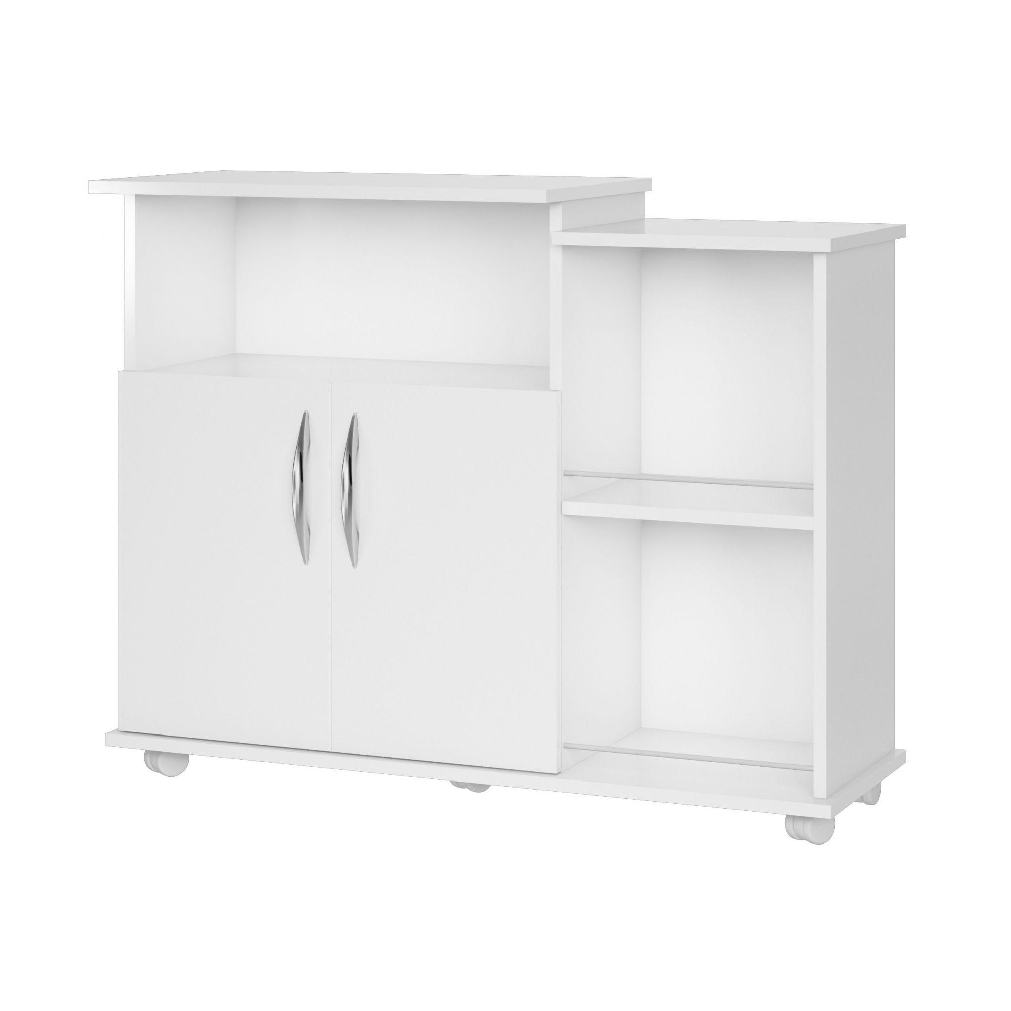 Armário Fruteira 2 Portas Microondas Água Branco Cozinha
