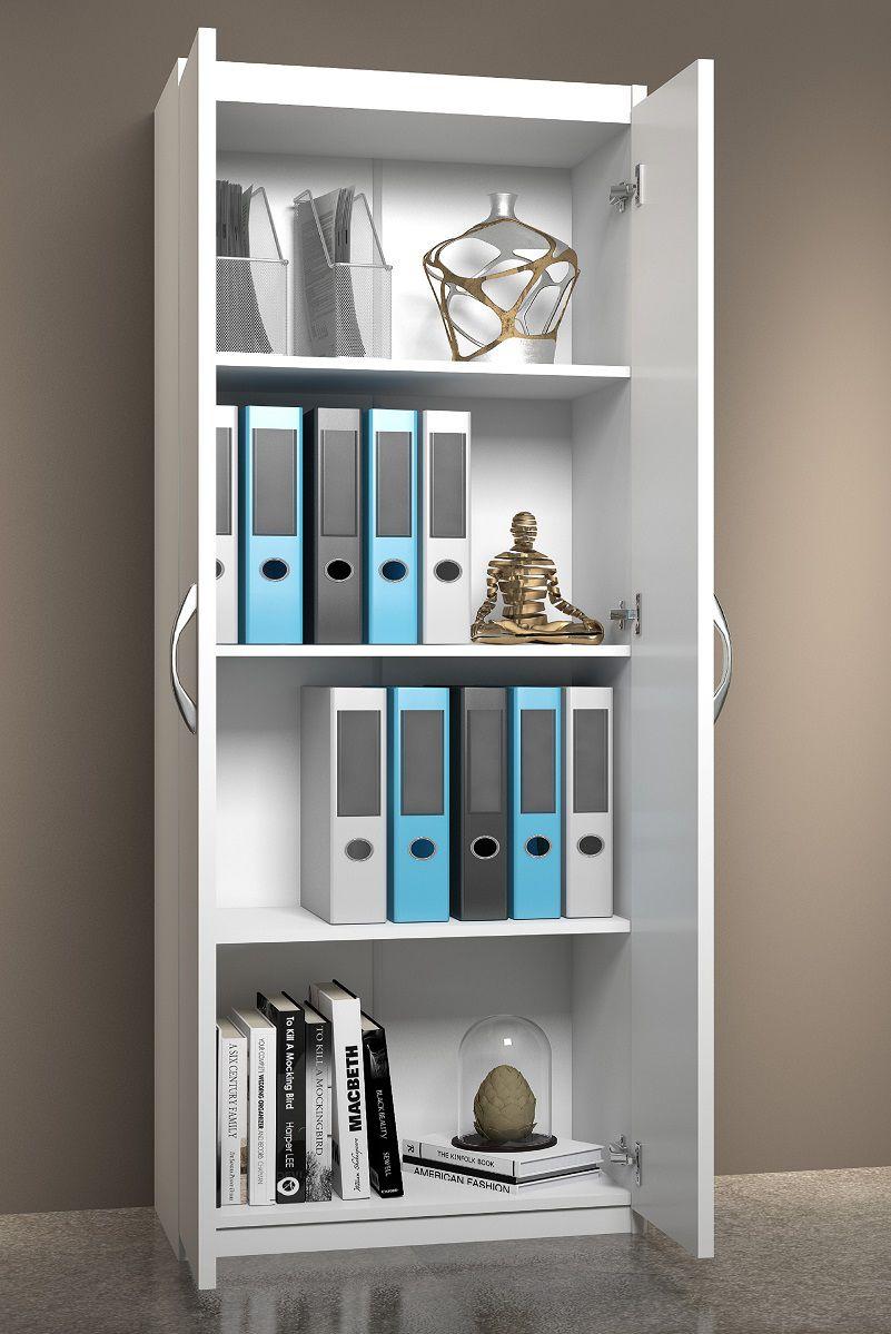 Balcão Para Guardar Livros Arquivos Utensílios Multiuso
