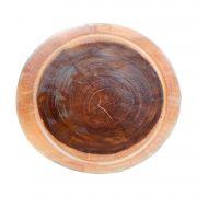 Bolacha de madeira maciça rústica lisa festa churrasco Personalizada 39x40x5cm