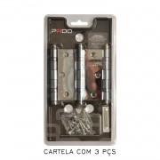 Kit Com 8 Cartelas De Dobradiça Pado Com Rolamento 3025/ACR