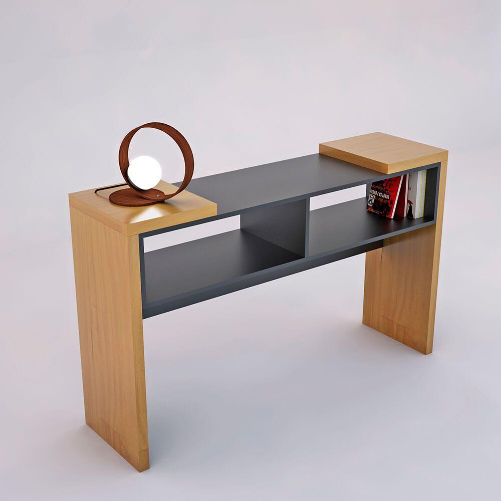 Aparador de madeira maciça EME - Verniz/Laca