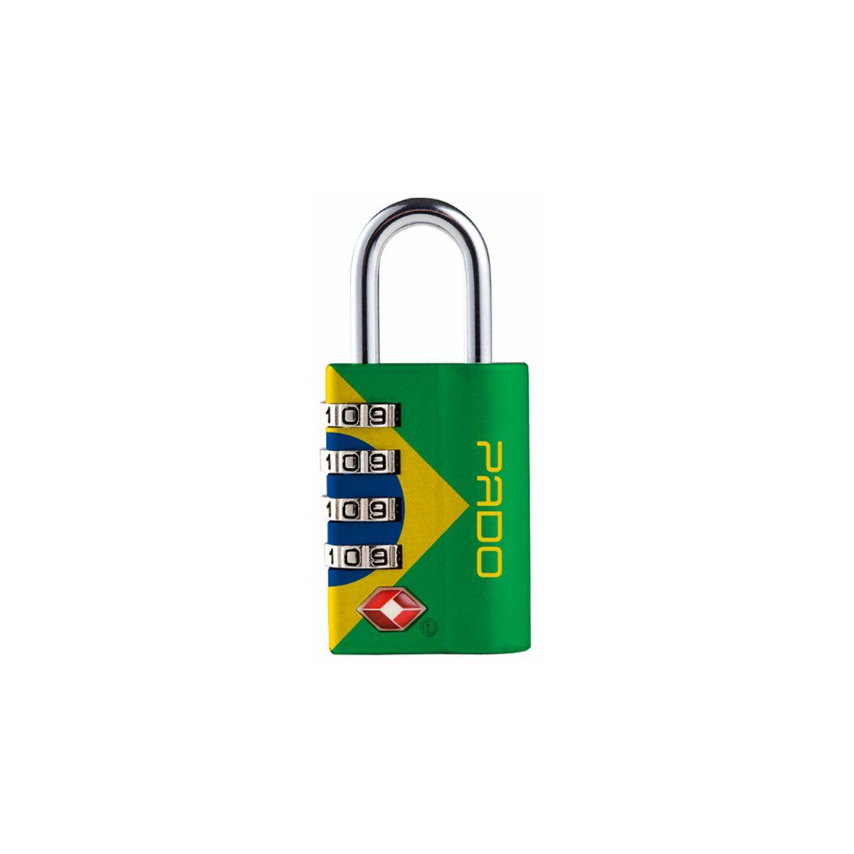 Cadeado zamac TSA sm executive 4 segredos Brasil