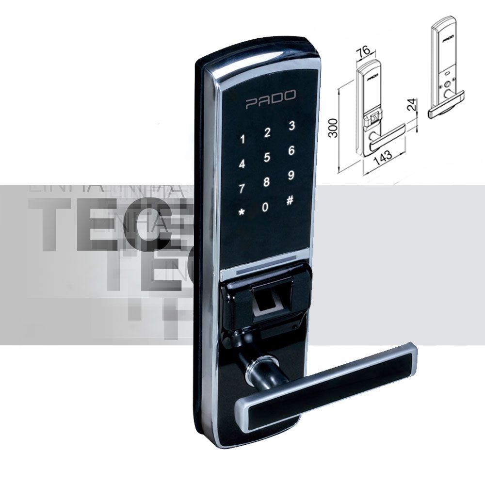 Fechadura Digital FDE-BC200 Pado Teclado Touch Screen