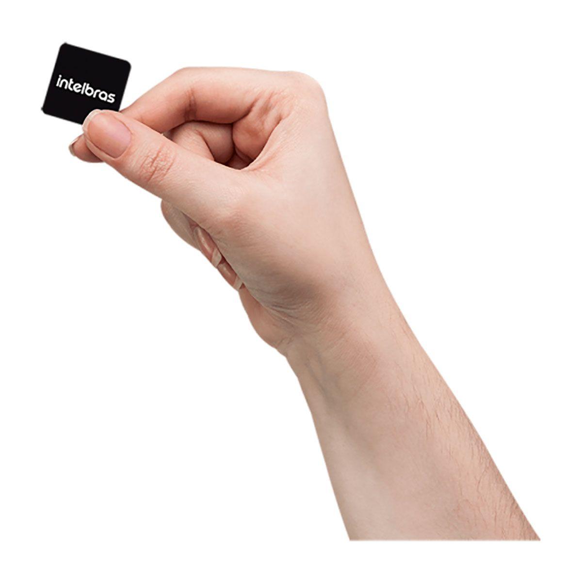 Fechadura digital de embutir Intelbras fr 330 com biometria e senha