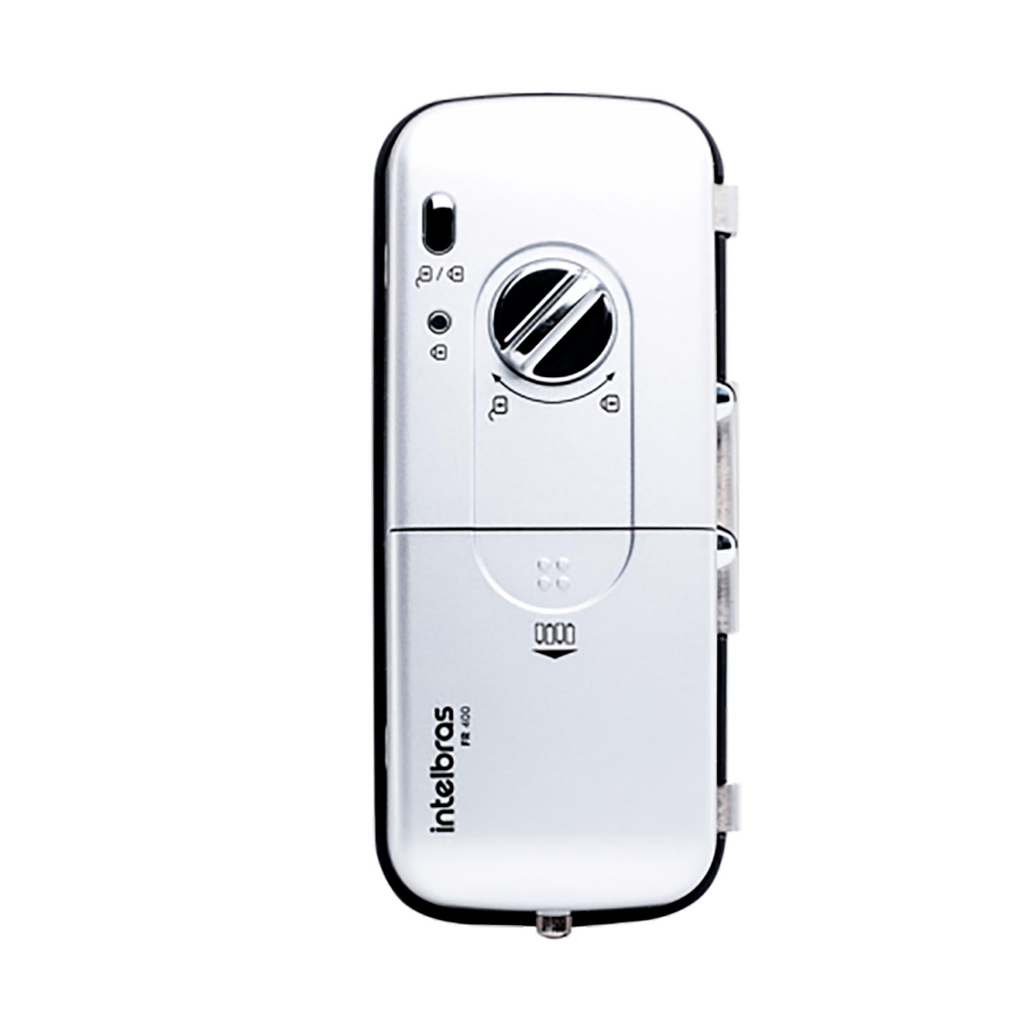 Fechadura digital de sobrepor para portas de vidro fr 400