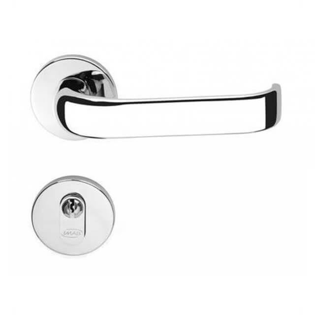 Kit fechadura imab duna cr  4 ext / 1 banheiro