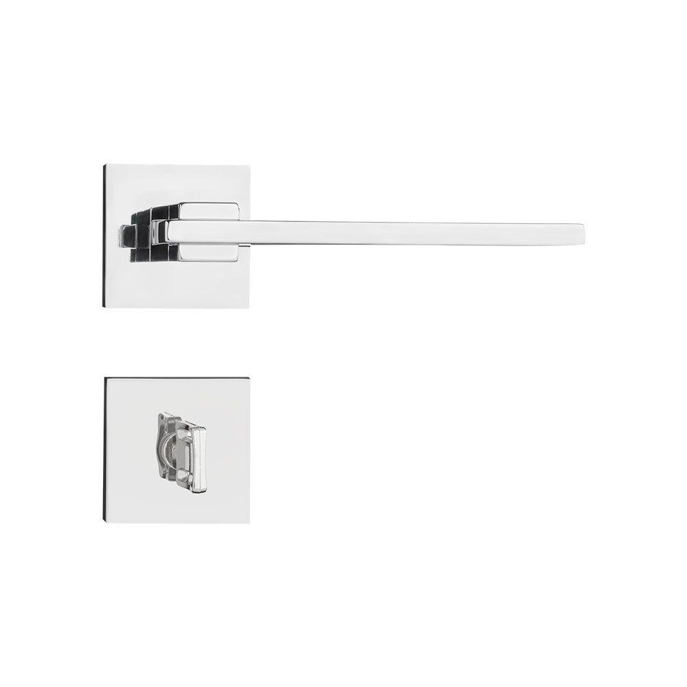 Kit Fechadura Pado Nina CR: 3 externa - 2 banheiro
