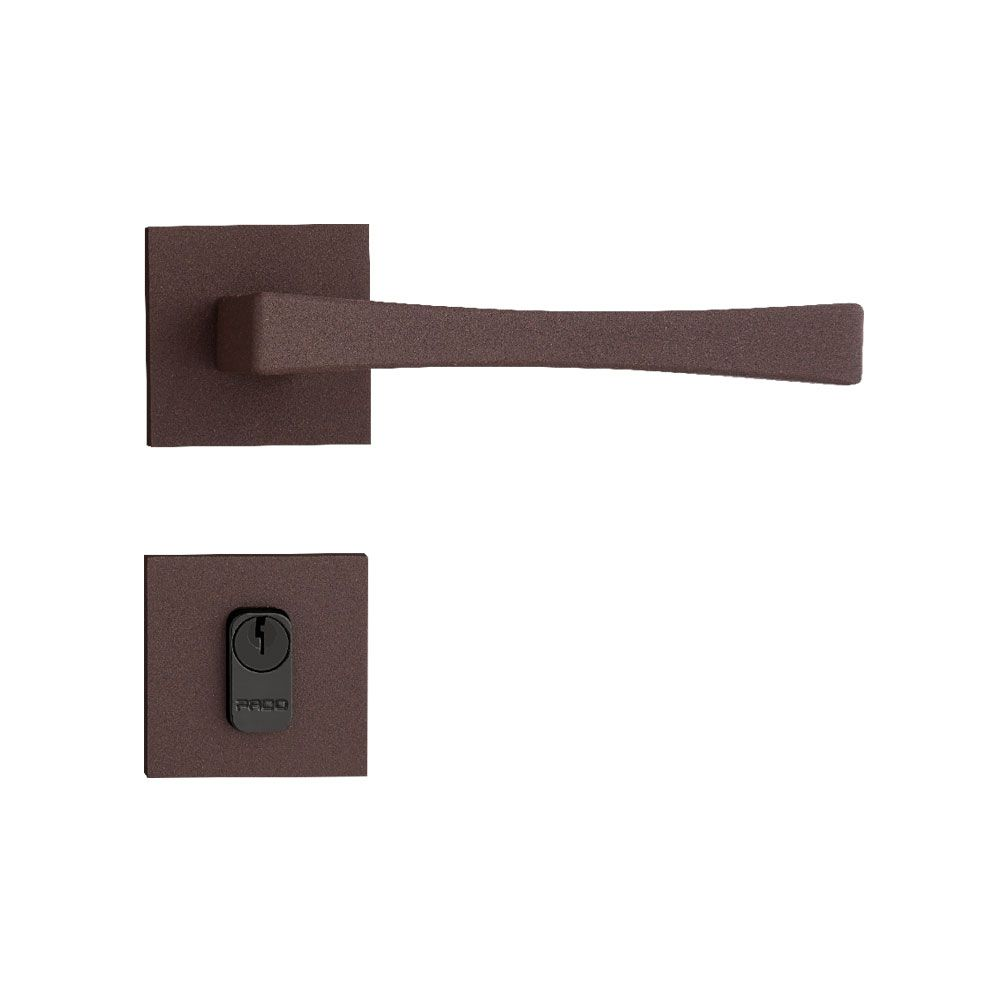 Kit fechadura vivaldi corten 02 wc 05 ext