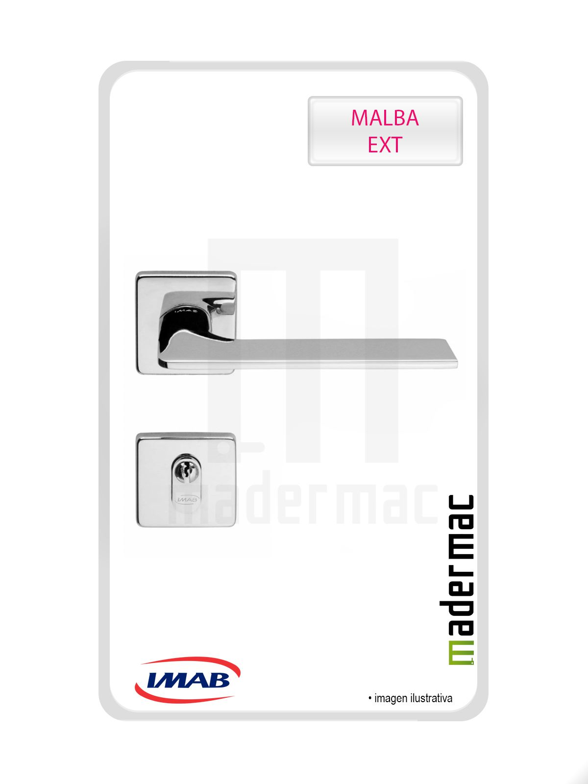 Kit Fechaduras Imab: 03 para Banheiro; 3 para porta de correr; 6 externas