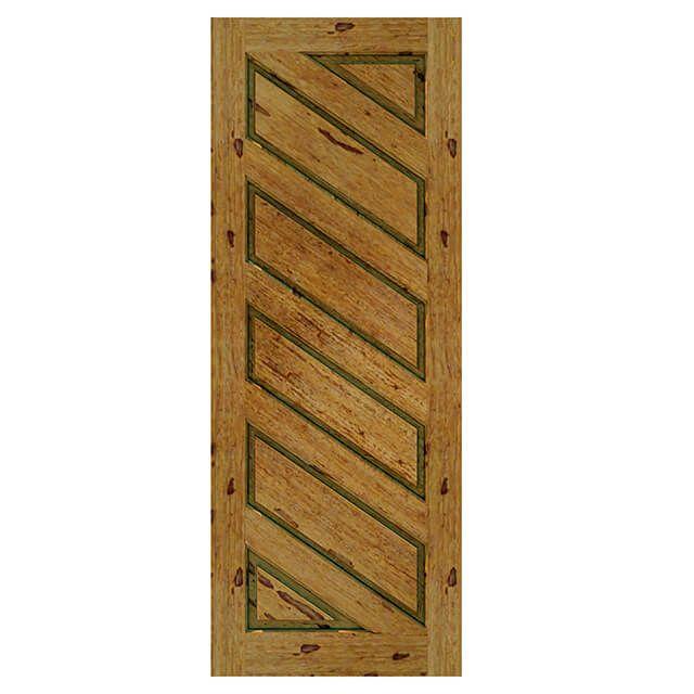 Porta de madeira maciça almofadada modelo pm - 08 Angelim