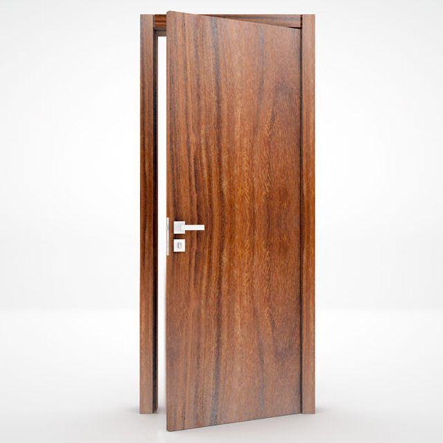 Porta Lisa Semi-Solida Cumaru