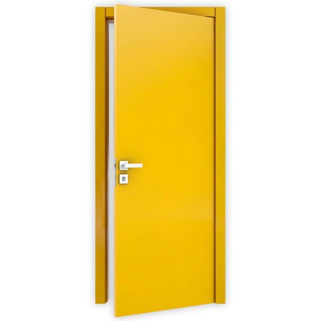 Porta Lisa Semi-Solida Laca Amarela