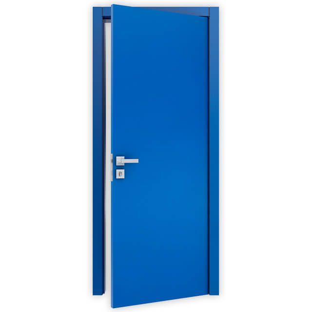 Porta Lisa Semi-Solida Laca Azul