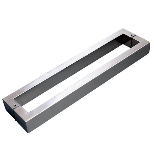 Puxador  Vesfer 3003 Alumínio Polido Com Alça Dupla 40 cm