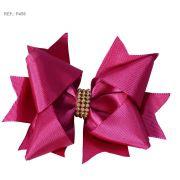 Laço liso rosa pink