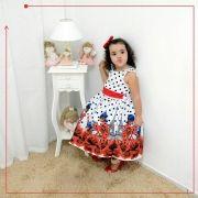 Vestido festa infantil da Ladybug