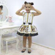 Vestido Infantil Lol Queen Bee - Abelhinha