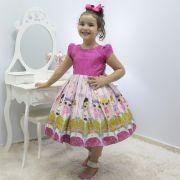 Vestido infantil tema Lol Surprise Glitter Under Wraps