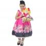 Tal Menina Tal Boneca Helo - Vestido Infantil Barbie Luxo