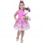Tal Menina Tal Boneca Mari - Vestido Barbie Sereia Rosa