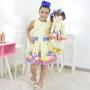 Tal Menina Tal Boneca Mari - Vestido Galinha Pintadinha Candy