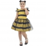 Vestido Abelhinha Lol Queen Bee Estilo Fantasia