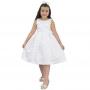 Vestido Branco Infantil - Batizado de Menina