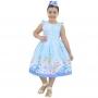 Vestido da Cinderela Luxo - Infantil
