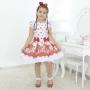 Vestido infantil tema da Moranguinho - Morangos