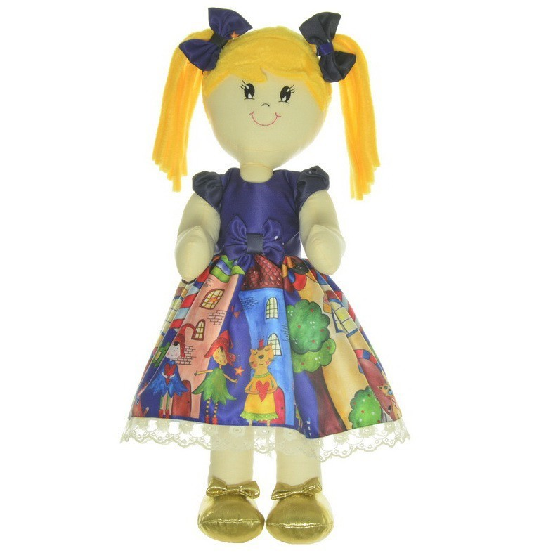 Boneca de Pano Helo com Roupa no tema Festa Fábulas e Fadas