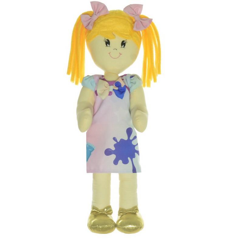 Boneca de Pano Helo com Roupa tema Slime
