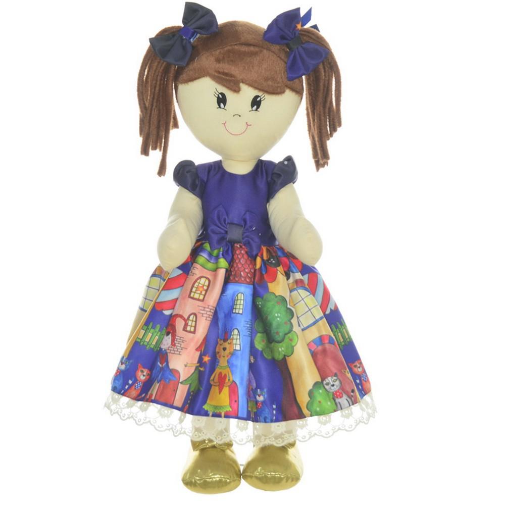 Boneca de Pano Mari com Roupa tema Festa Fábulas e Fadas