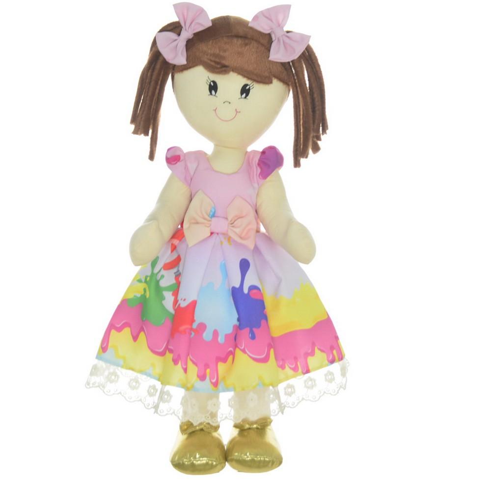 Boneca de Pano Mari com Roupa tema Slime