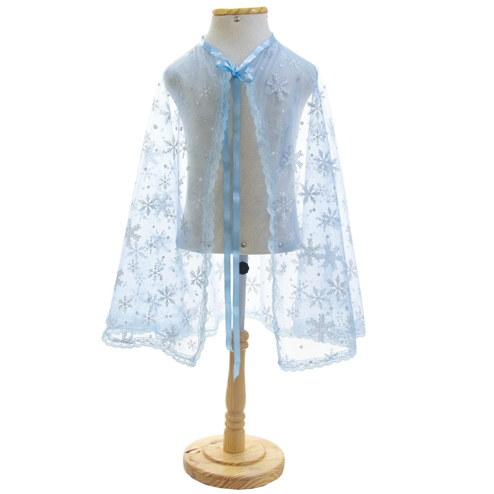Capa Elsa Frozen Azul