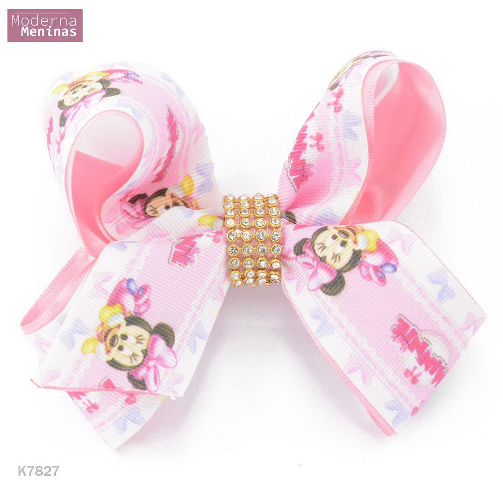 Laço temático da Minnie rosa