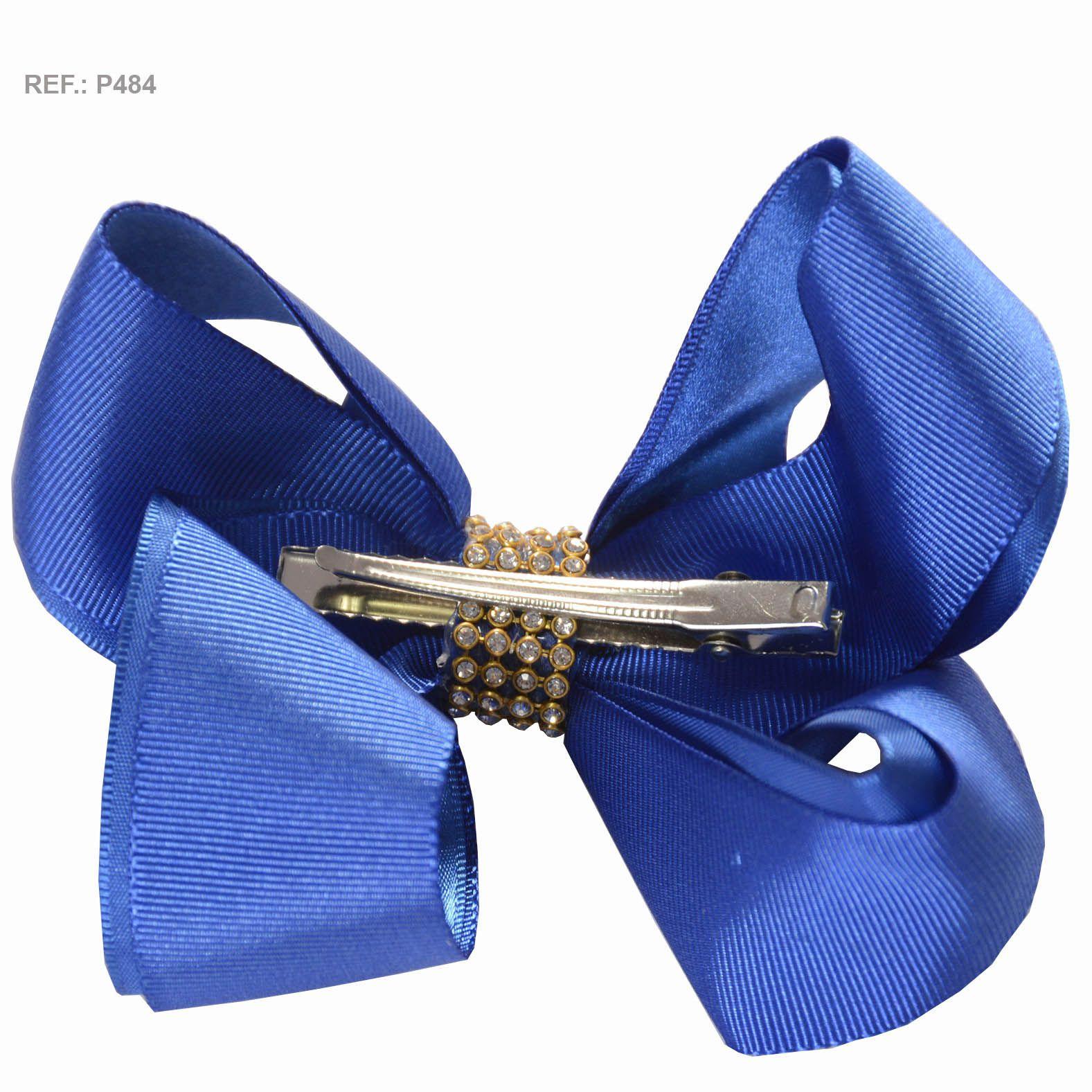 Laço liso azul