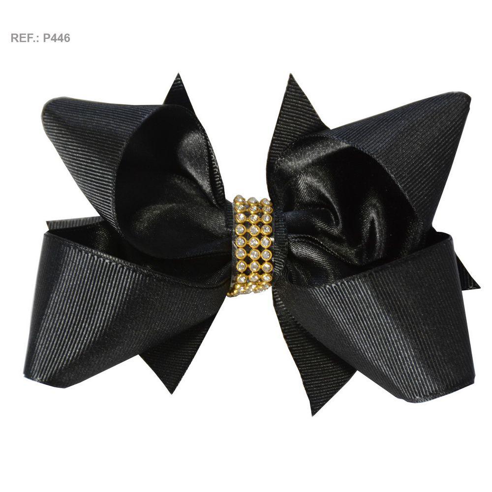 Laço liso preto
