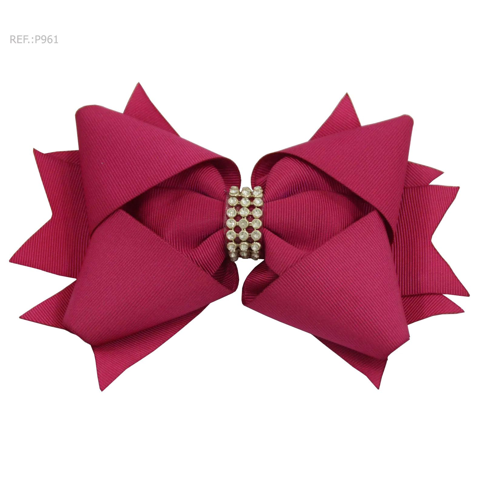 Laço para cabelo liso Rosa Pink