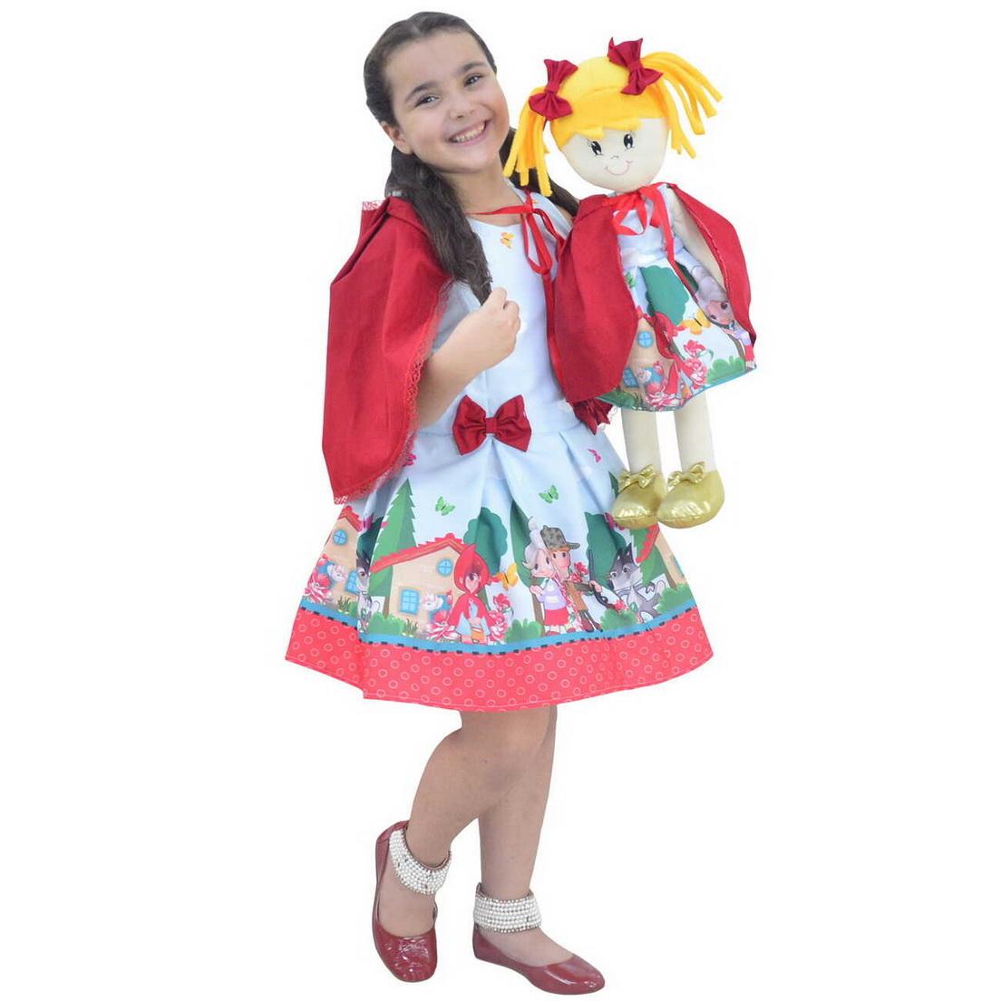 Tal Menina Tal Boneca Helo - Chapeuzinho Vermelho Com Capa