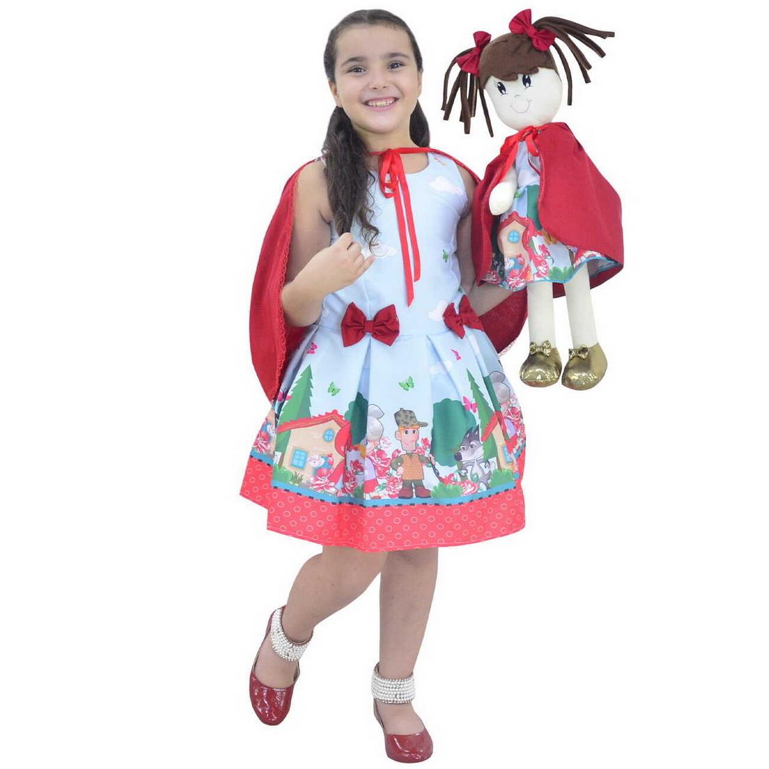 Tal Menina Tal Boneca Mari - Chapeuzinho Vermelho Com Capa